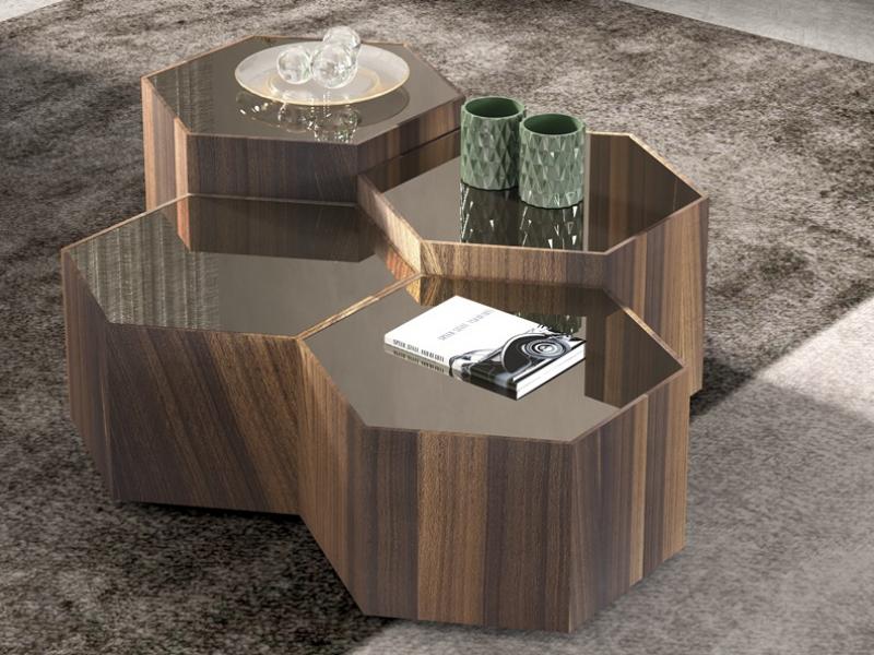Mesa de centro modular. Mod: BEE