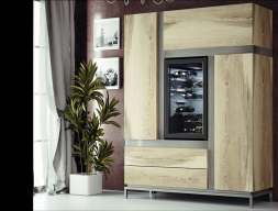 Mueble vinoteca. Mod: MERLOT