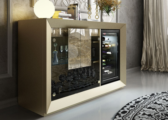 Mueble vinoteca. Mod: SAUVIGNON