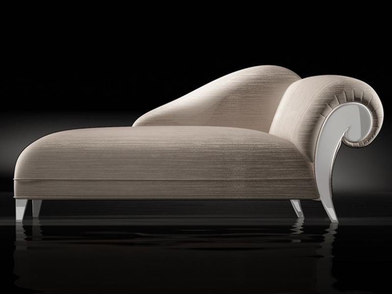 Chaisse longue tapizada.Mod: DALIDA LACADO