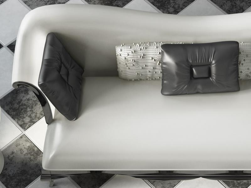Sof� tapizado y lacado.Mod:ROYAL
