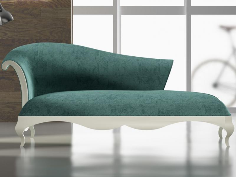 Chaisse longue tapizada y lacada.Mod: ELAINE LACADO