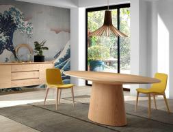 Mesa de comedor, mod: LEON ROBLE