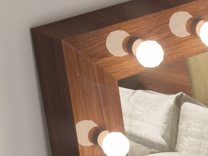 Espejo vestidor con luces led.Mod: STAR XXL