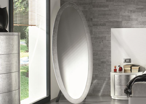 Espejo vestidor ovalado. Mod. GALATEA