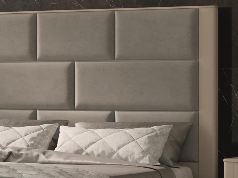 Cabecero lacado y tapizado. Mod: OLIVIA