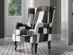 Sillón, mod: BOSTON PATCHWORK BYN