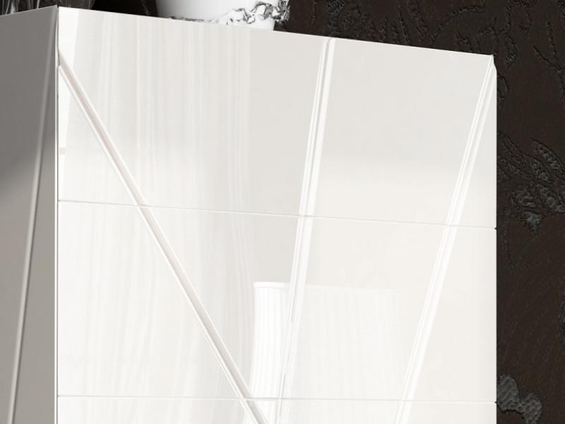 Sinfonier lacado de 6 cajones y luz led.Mod: NAUGE LED