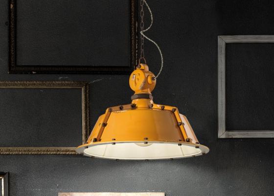 Lámpara cerámica de techo. Mod: INDUSTRIAL C