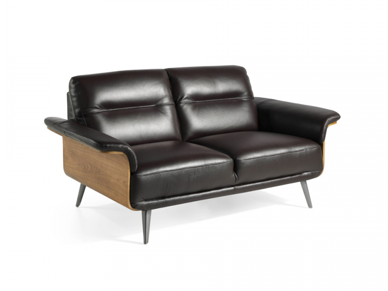Sofa de 2 plazas en cuero. Mod. TIVOLI 2P