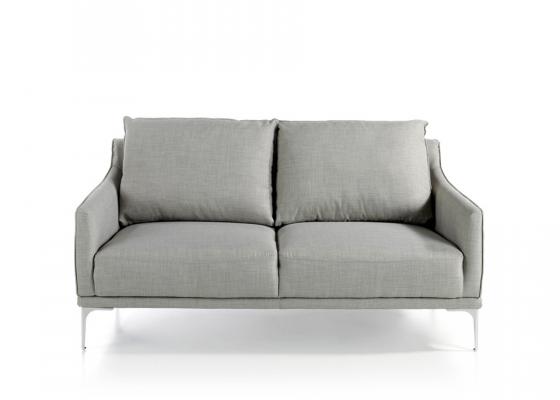 Sofá 2 plazas tapizado. Mod. ZOE-2P