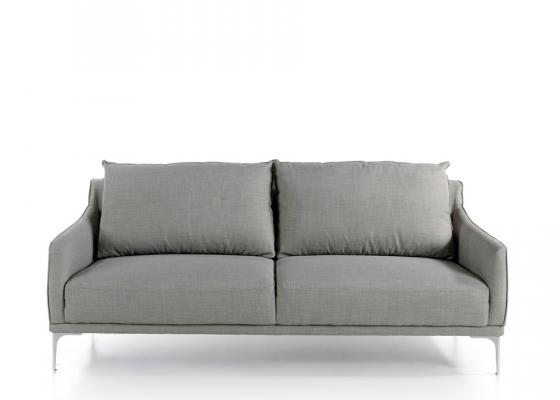 Sofá 3 plazas tapizado. Mod. ZOE-3P