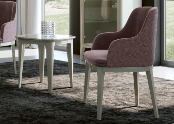 Juego de 2 sillas tapizadas: Mod: CALVI
