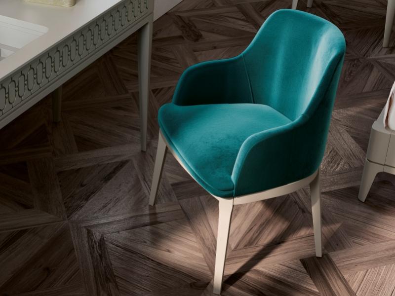 Juego de 2 sillas tapizadas: Mod: MAISA