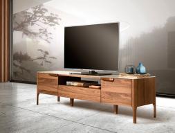 Mueble TV con tapa porcelánica. Mod. DINA/TV