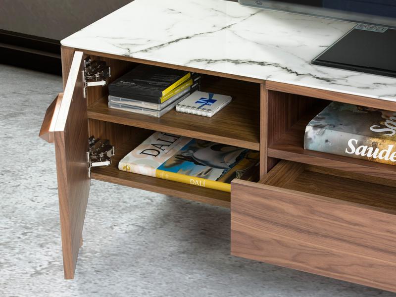 Mueble TV con tapa porcel�nica. Mod. DINA/TV