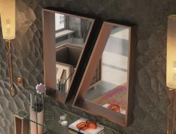 Espejo metálico lacado. Mod: AMIN