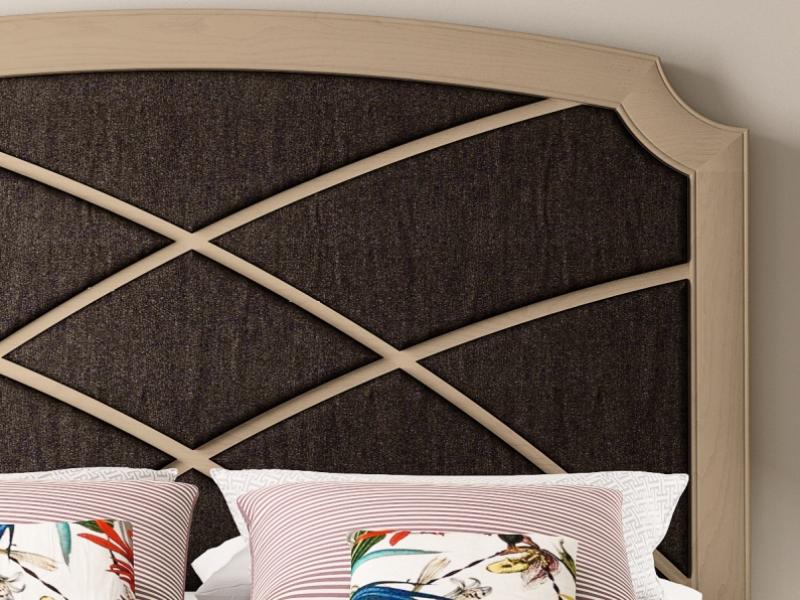Cabecero de fresno tapizado. Mod: REGINA