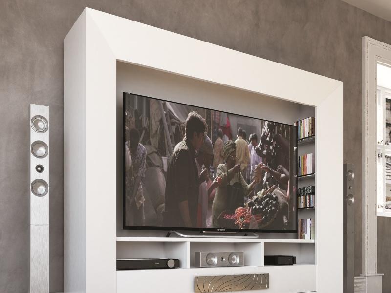 Mueble TV lacado. Mod: HAMIDA