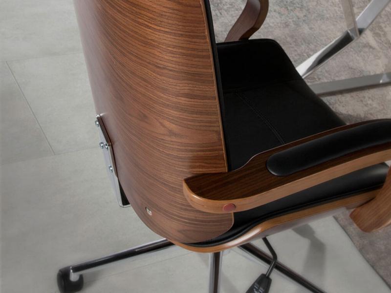 Sill�n de oficina tapizado. Mod: GOUDA