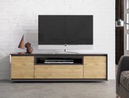 Mueble TV lacado de 2 puertas ,cajón y hueco : Mod: JANKO TV-C
