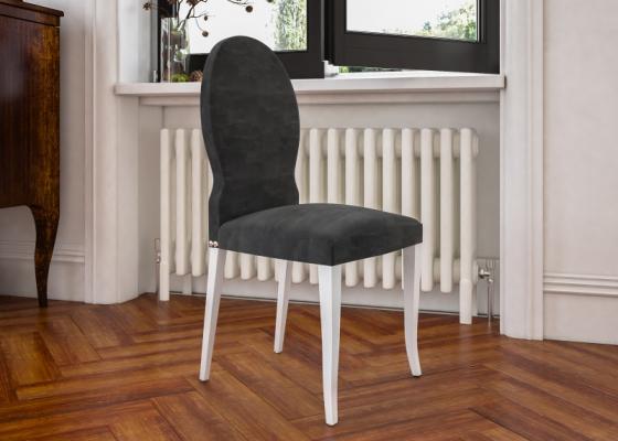 Juego de 2 sillas tapizadas. Mod. ORANGE