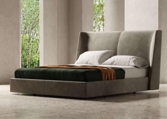 Cama completa tapizada.Mod: SOLEIL