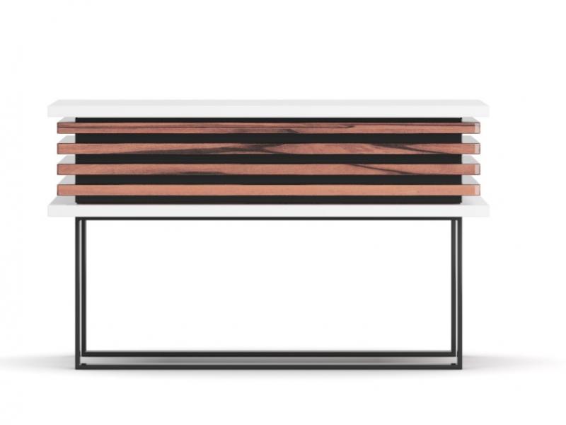 Mesitas de noche de dise�o en madera y lacadas.Mod: AJACCIO