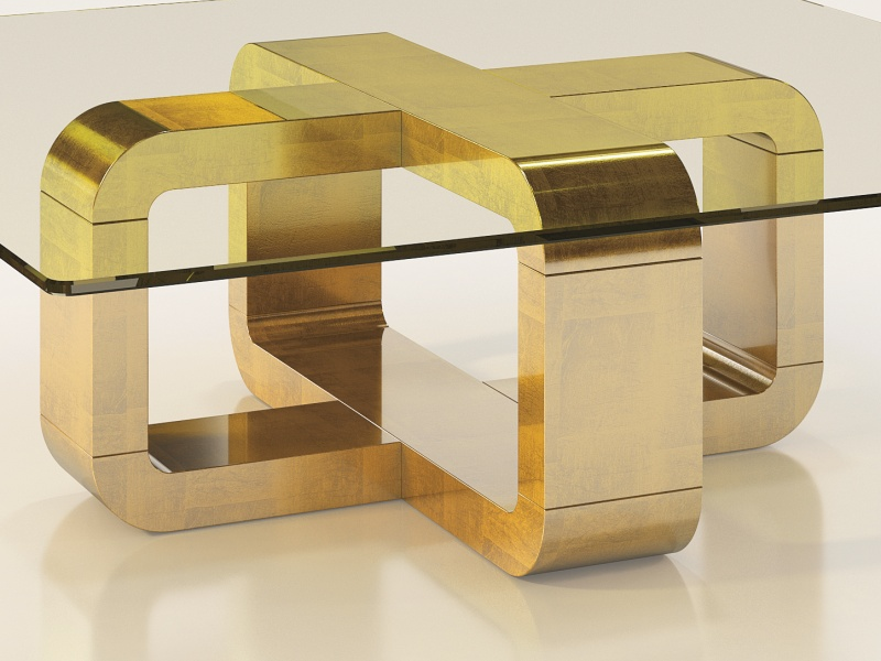 Mesa de centro de dise�o. Mod: ANTARA